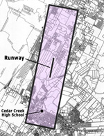 estimated Airport Compatibility Zone